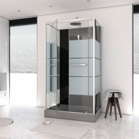 Cabine de douche rectangle 110x80x225cm - SCRATCHY 110