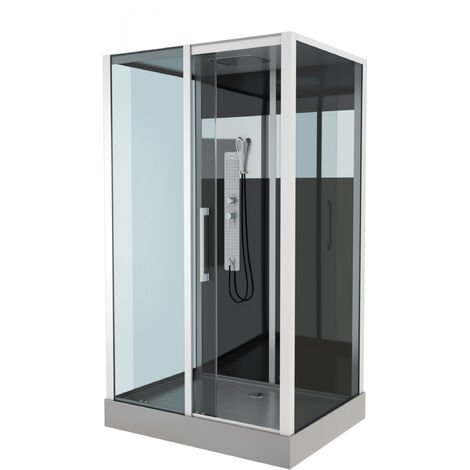 Cabine de douche RECTANGLE 115x90x225cm - COSMOS