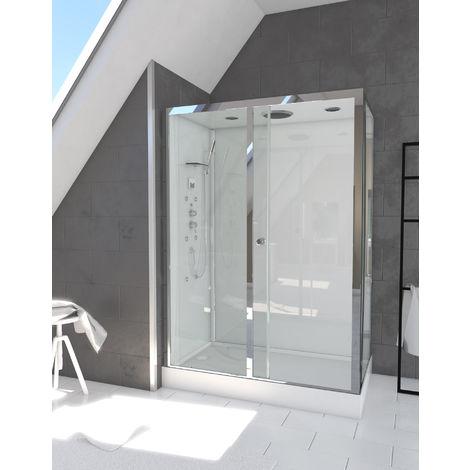 Cabine de douche SAPPY rectangle 120x70x210cm