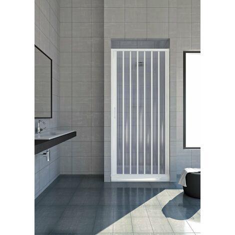 Cabine de douche Venere en PVC avec ouverture late'rale a' soufflet