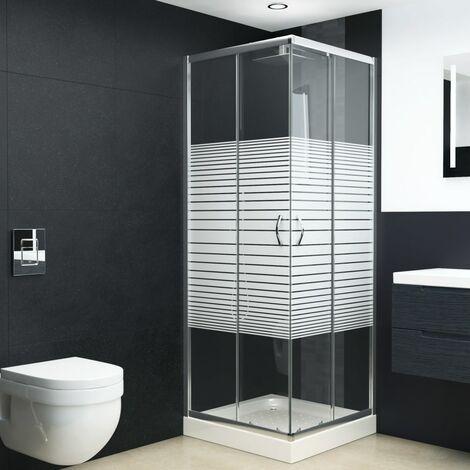 Cabine de douche Verre de sécurité 70x70x185 cm
