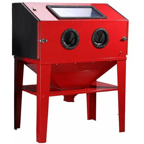Cabine de sablage 450 Litres microbilleuse