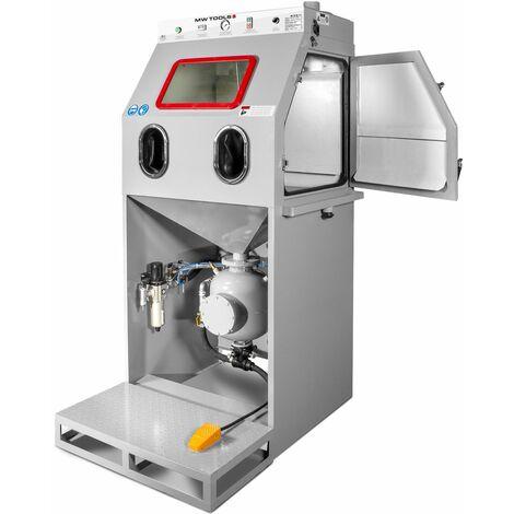 Cabine de sablage à haute pression + aspiration 540 l MW-Tools SCHD540