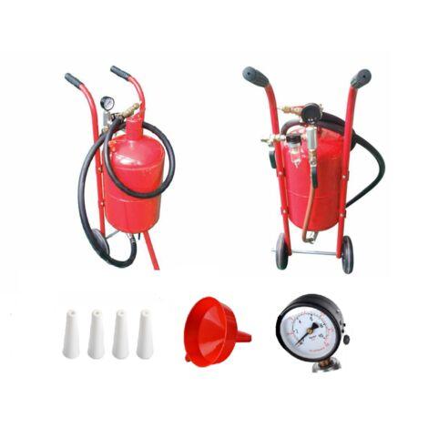 Cabine de sablage mobile , sableuse 19 L + accessoires