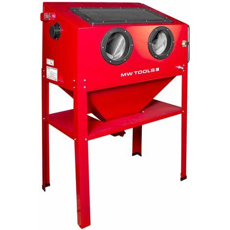 Cabine de sablage professionnelle 220 L MW-Tools CAT410