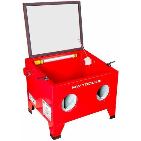 Cabine de sablage professionnelle 80 L MW-Tools CAT210