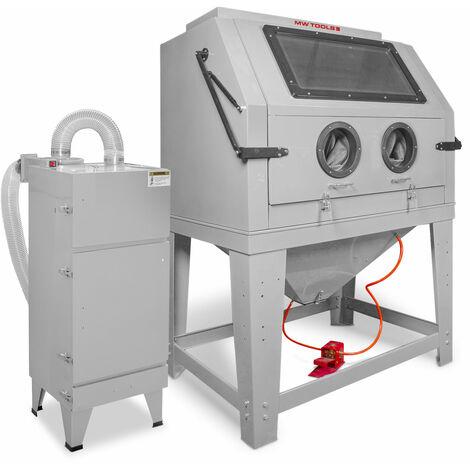 Cabine de sablage professionnelle 990 l MW-Tools CAT990FC