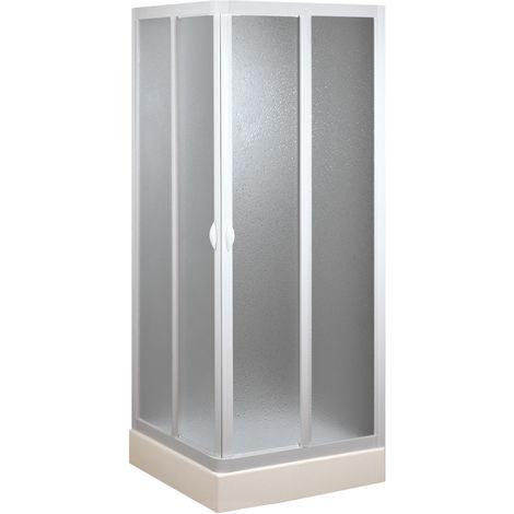 Cabine douche 90x90CM en acrylique mod. Venere avec ouverture centrale