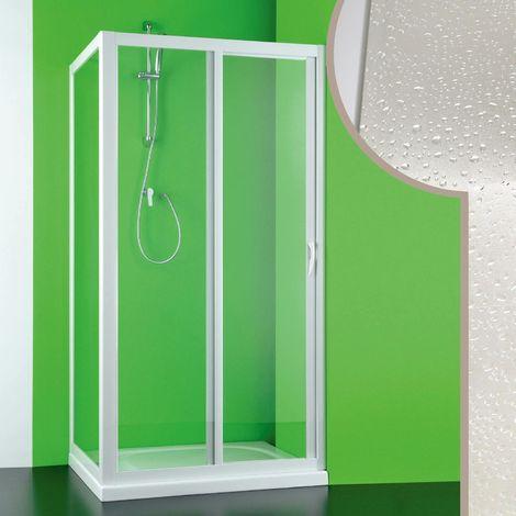 Cabine douche en acrylique mod. Mercurio avec ouverture laterale
