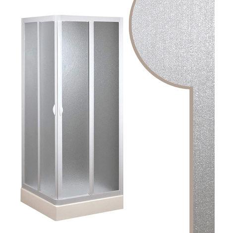Cabine douche en acrylique mod. Smart avec ouverture centrale
