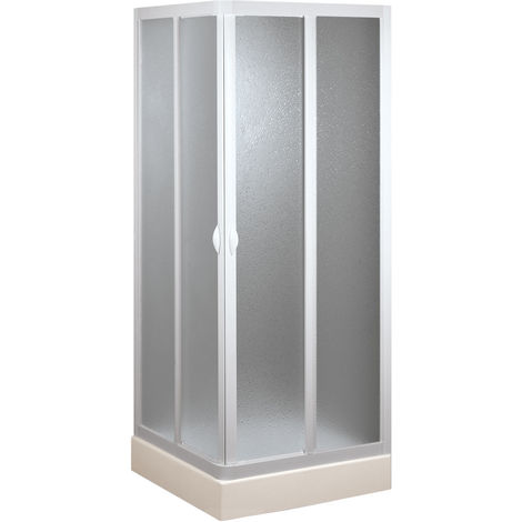 Cabine douche en acrylique mod. Venere avec ouverture centrale