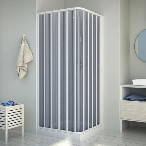 Cabine douche en Plastique pvc mod. Energy avec l'ouverture latérale