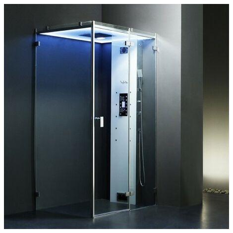 Cabine douche Hammam Archipel Cristal® 120D (120x90cm)