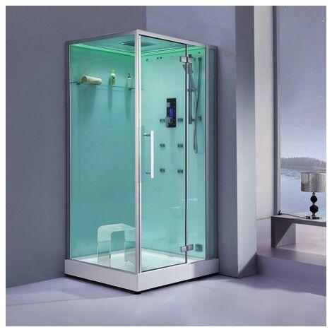 Cabine douche Hammam Archipel® Pro 100D (100x100cm) 1 à 2 places