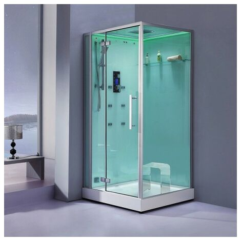 Cabine douche Hammam Archipel® Pro 100G (100x100cm) 1 à 2 places