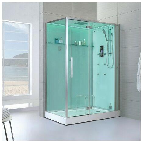 Cabine douche Hammam Archipel® Pro 150D (150x90cm) - 2 à 3 places