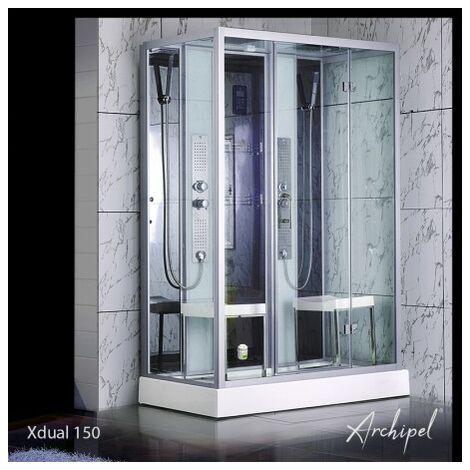 Cabine douche Hammam Archipel® XDUAL 150