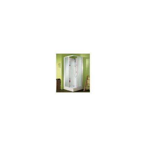 CABINE IZI BOX 2 ANGLE 80X80 PORTE COULISSANTE G LEDA L11IZBC00801