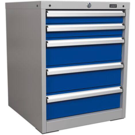 Cabinet Industrial 5 Drawer
