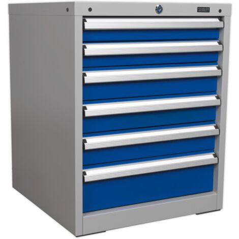 Cabinet Industrial 6 Drawer