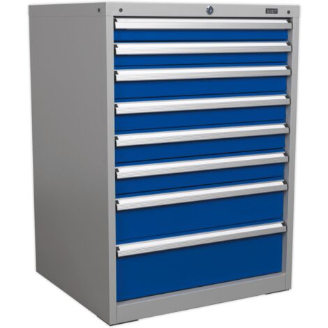 Cabinet Industrial 8 Drawer