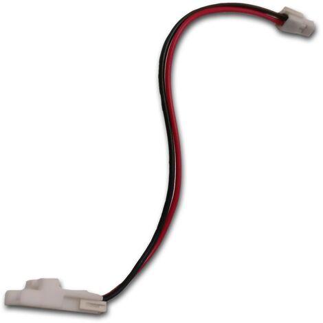 Cable 120mm 0.5mm2 UL1007 pour batterie (294920-51775) (EAD63289401) Aspirateur robot LG