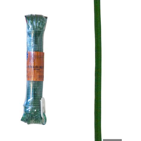 Cable Acero Forrado 4mm Verde - NEOFERR - PH0688 - 15 M
