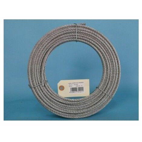 Cable Acero Galvanizado 6X19+1 10Mm Cursol 100 Mt