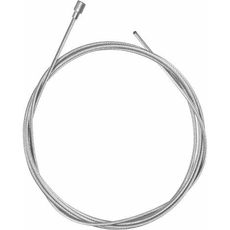 Cable acier 2m x 2.5mm tete poire motoculteur tracteur tondeuse motoculture accelerateur frein traction embrayage