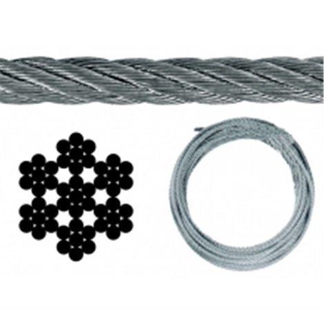 Cable Acier 4Mm Pour Treuil Le M