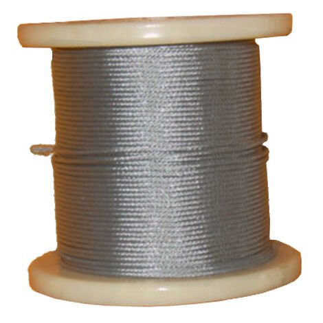 Câble acier galvanisé Ø2mm - Bobine de 100m Acier - Acier
