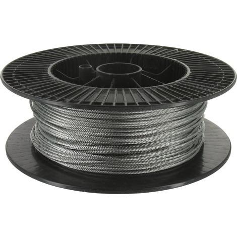 Câble acier galvanisé Levac