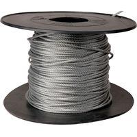 Câble acier galvanisé Levac - Ame métallique - Bobine de 100 m - Diamètre 3 mm