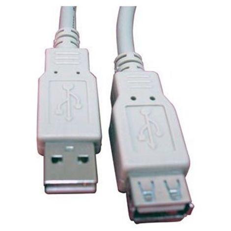 CABLE ALARGADOR USB 2.0 3 MTS CAB-SB-1230