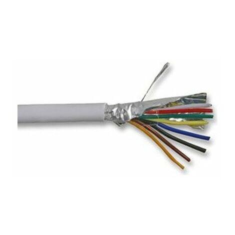 Câble alarme EV6S 6x0,22 BLC AE - vendu par rouleau de 100 mètres