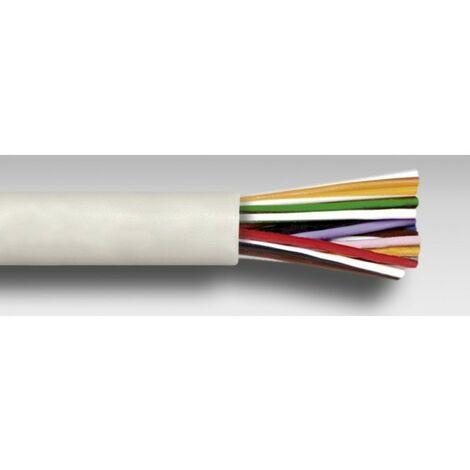 Cable altavoz con funda blanco 6X0,5MM Rollo 100m