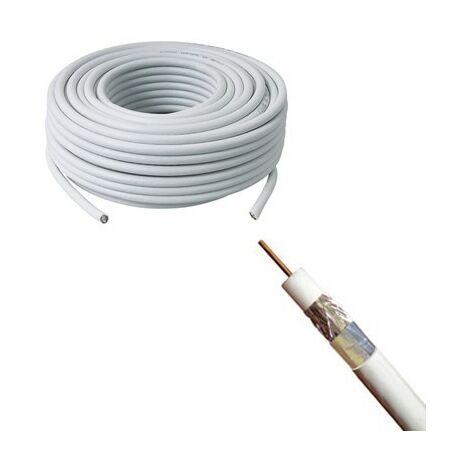 Câble antenne COAX TV (classe B) 17VATC - vendu au mètre