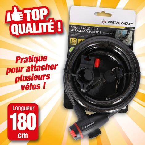 Câble anti-vol spirale 12mm
