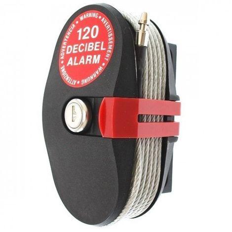Câble antivol avec alarme Lock Alarm de 4,6 mètres
