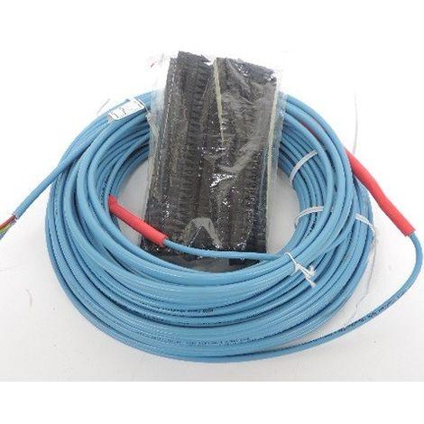 Cable chauffant 1150W longueur 67.6m liaison froide 2x1,5 mm² en couronne pour chauffage sol HORATWIN HORA 121011-01