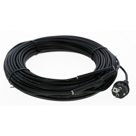 Câble chauffant de goutière - 10m - 160 W