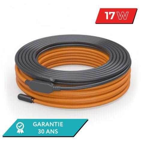 Câble chauffant pour chape de béton