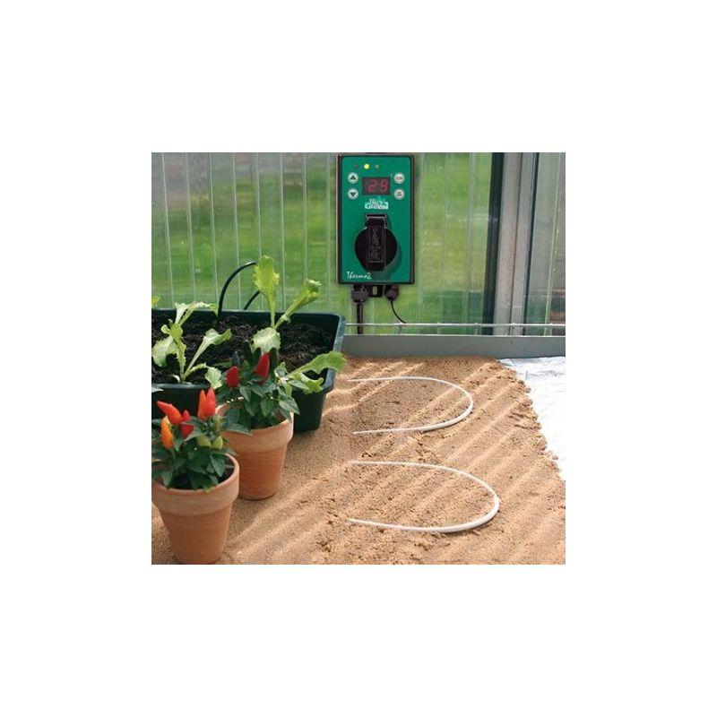 Chauffage au sol kit de câble avec thermostat option pour chauffage au sol carrelage sous