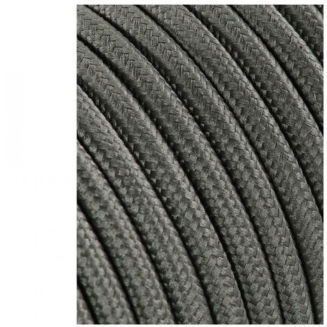 Cable Cordon Tubulaire 2X0.75Mm C63 Gris Oscuro 25M - NEOFERR