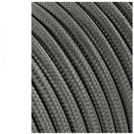 Cable Cordon Tubulaire 2X0.75Mm C63 Gris Oscuro 5M - NEOFERR