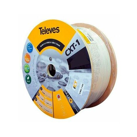 CABLE CXT-1 500m BL TELEVES 212704