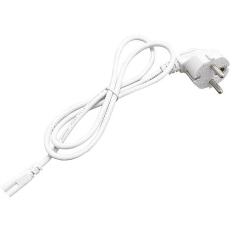 Câble d'alimentation 3 Têtes pour Tube néon T5 220V BLANC - Blanc - SILAMP