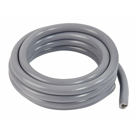 Câble d'alimentation HO5VV-F, L.3m 3m Gris - Gris