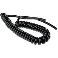 Câble d'alimentation RS PRO 3 x 1 mm², Gaine Chlorure de polyvinyle PVC Noir, 17 AWG, C 1m