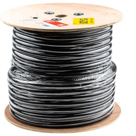 Câble d'alimentation RS PRO 3 x 2,5 mm², 4 mm², Gaine Chlorure de polyvinyle PVC Gris, C 50m